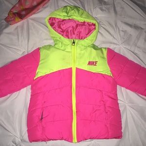 My baby grew out of this cute Nike puffer !